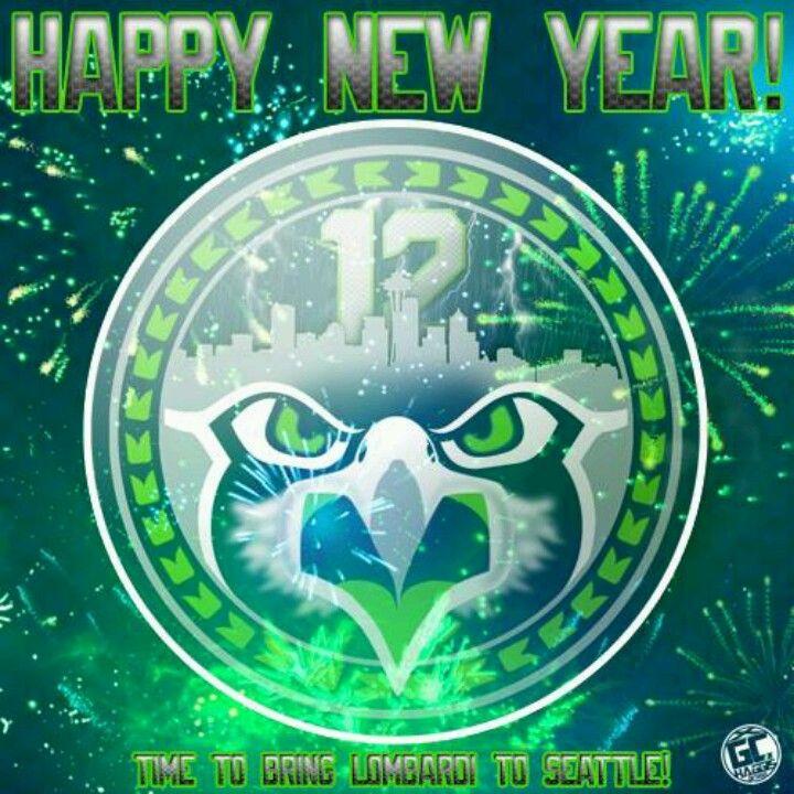 Seahawks 2014 Happy New Year