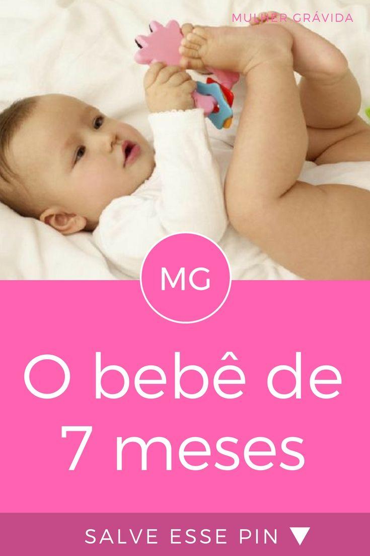 O Bebe De 7 Meses Quais Os Sinais De Desenvolvimento Com