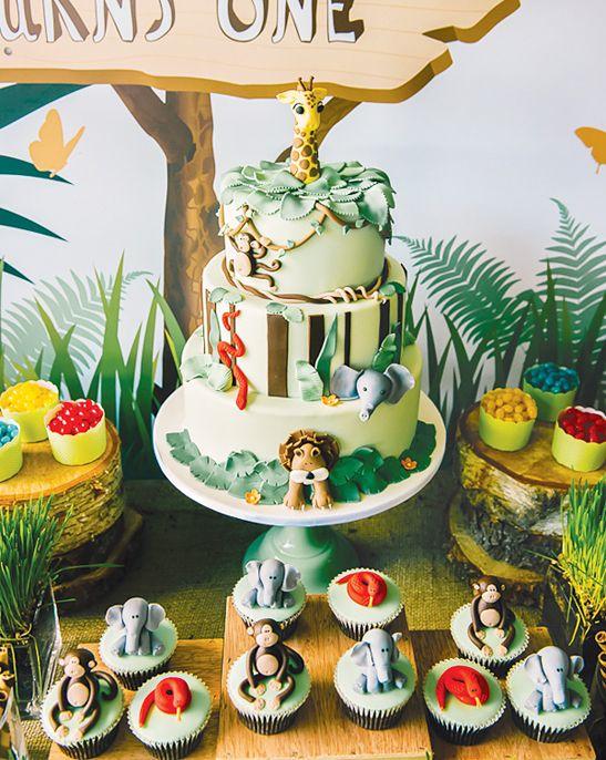 Un anniversaire th me jungle pinterest th me de la jungle creepers et la jungle - Theme anniversaire garcon ...