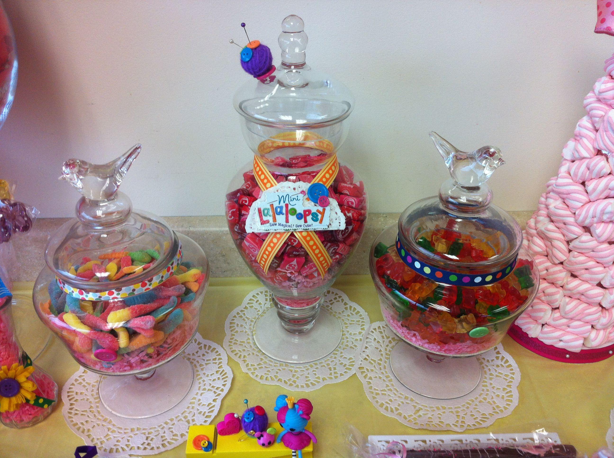 Lalaloopsy Birthday Party Ribbon Decoration for Lalaloopsy Candy Bar