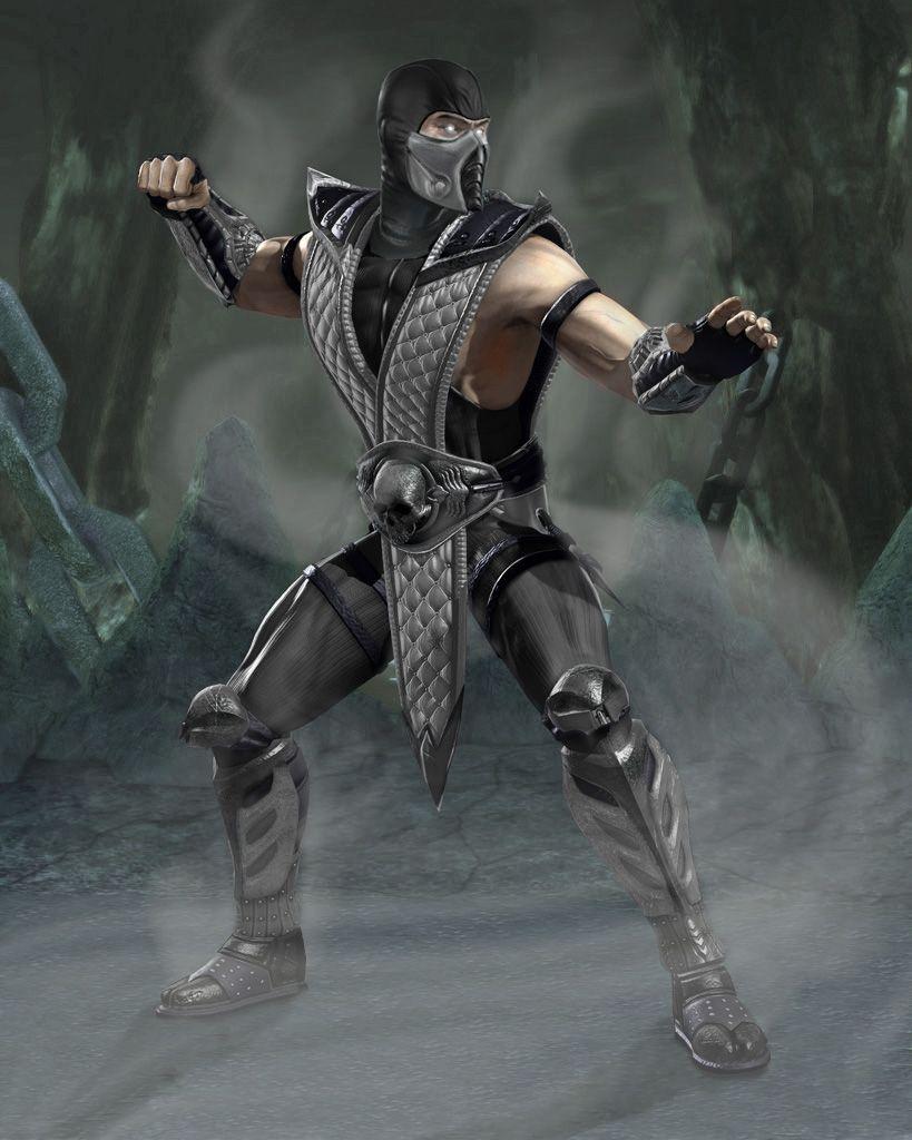Mortal Kombat Smoke Mortal Kombat Characters Mortal Kombat