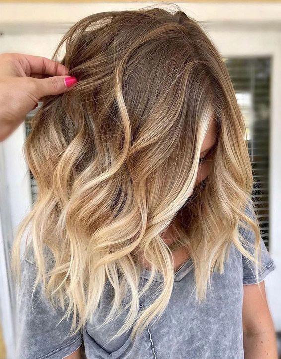 Stile moderno di colore dei capelli Balayage da indossare Nel 2019 Idee deliziose di colore dei capelli per …