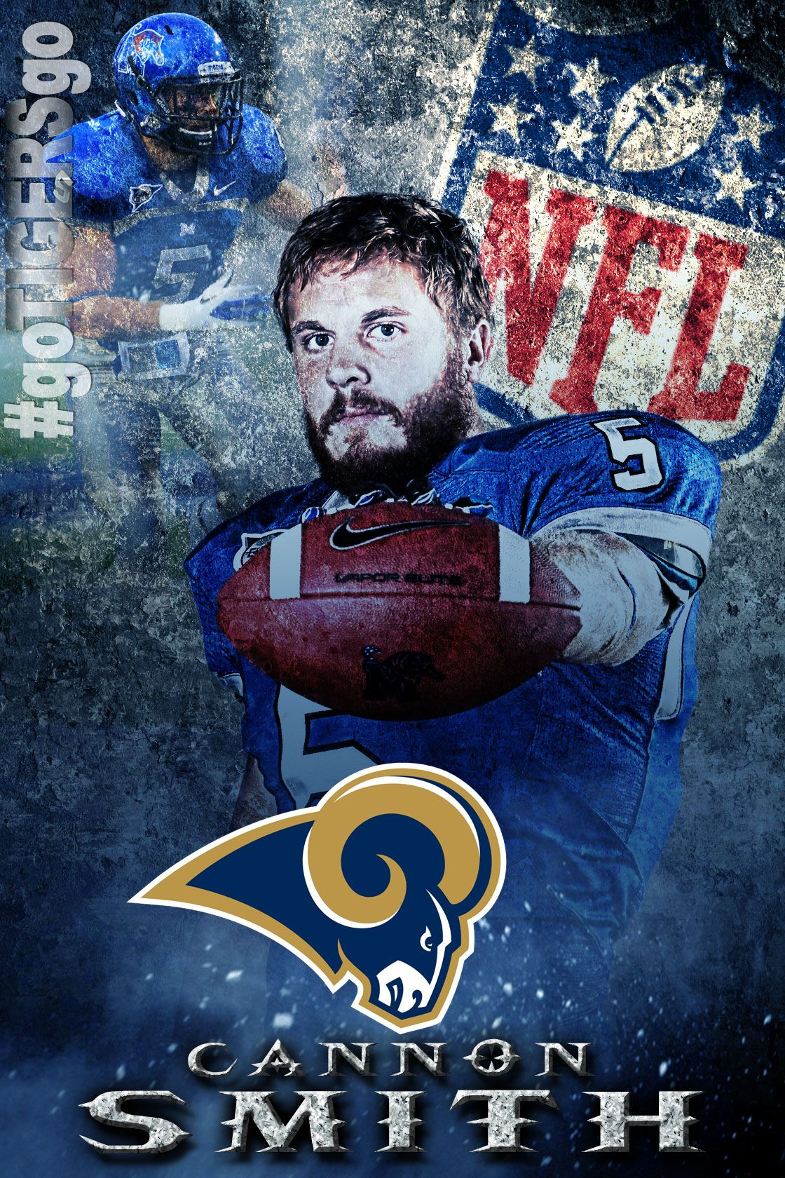Cannon smith 2013 nfl free agent signee with the st