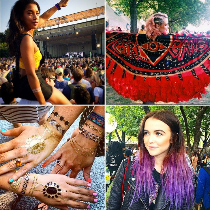 Pin for Later: Holla, Lolla! The Most Stylish Lollapalooza Moments From Instagram