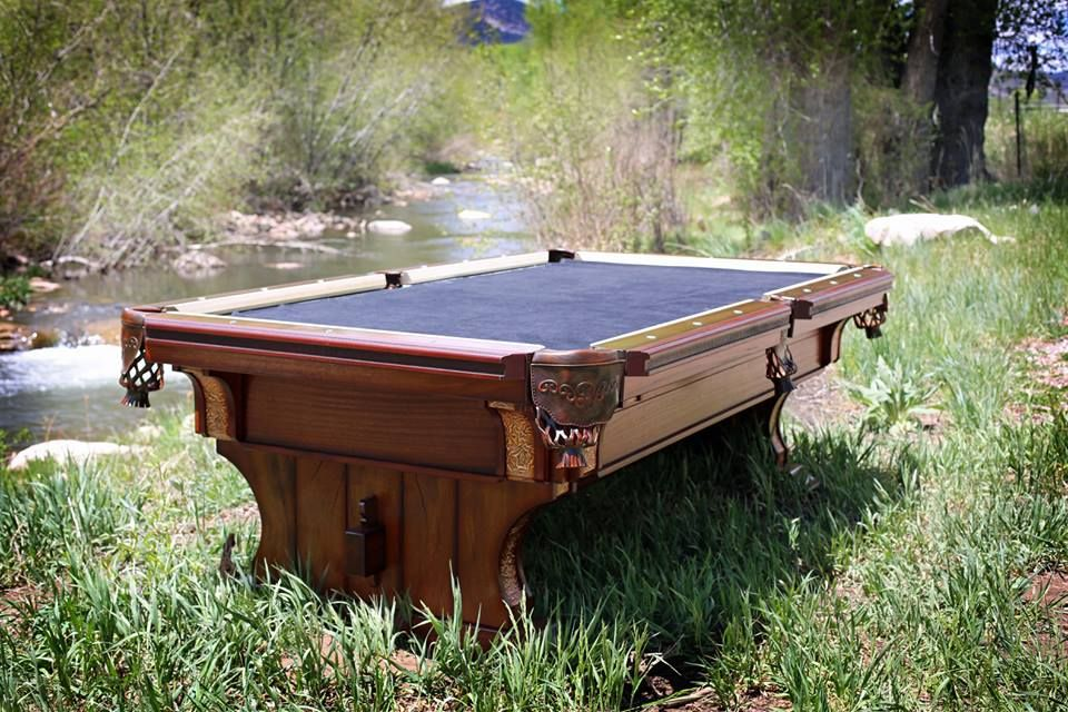 Pool Table By Western Heritage Furniture For The Home Pinterest - Western pool table