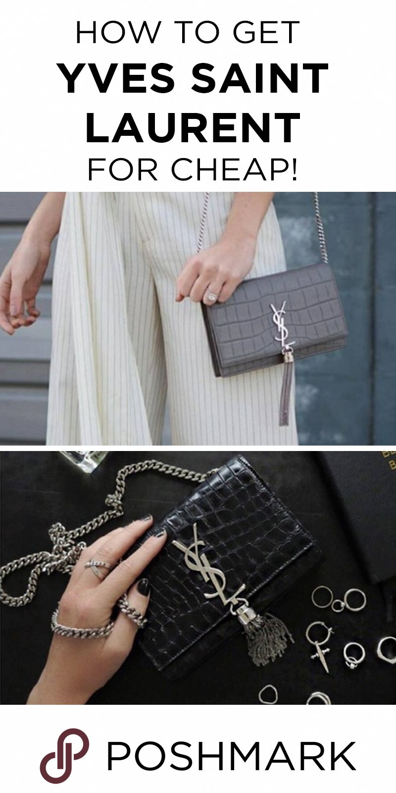 e0d528c7ab8 Find authentic Yves Saint Laurent bags on Poshmark! Download the app today.   Designerhandbags