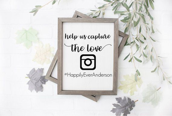 Download Capture the Love Svg | Wedding Hashtag Sign. DIY Wedding ...