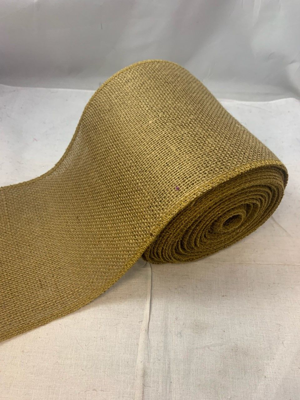 6 Idaho Burlap Ribbon 10 Yard Roll In 2020 Burlap Ribbon Burlap Ribbon
