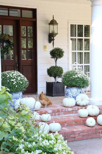 French Country Fall Home tour with Soft Surroundings and Romantic Homes Magazine