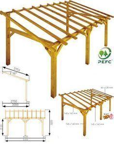 Elegant Tin Roof Lean To Free Standing Pergola Roof, Patio Roof, Pergola Plans,  Carport