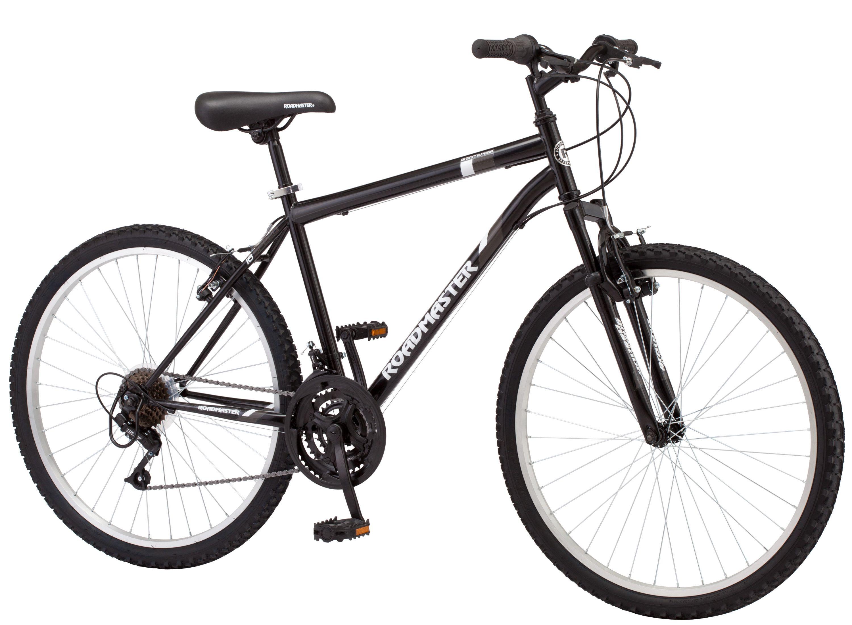 Roadmaster Granite Peak Men S Mountain Bike 26 Wheels Black Peak