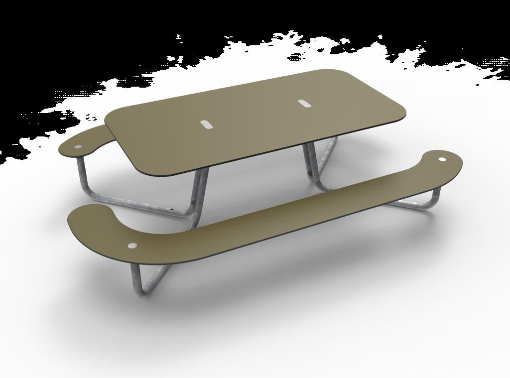 38382ec1b9c Tjinco Plateau picknicktafel tafel rond ovaal rood groen blauw geel zwart  grijs wit paars oranje geel
