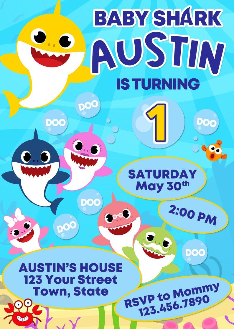 Pin on Kids Birthday Party Invitations