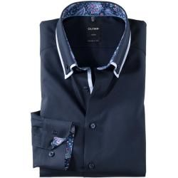 Olymp Luxor Hemd, modern fit, Button-down, Kobalt, 42 Olympolymp #fashiontag