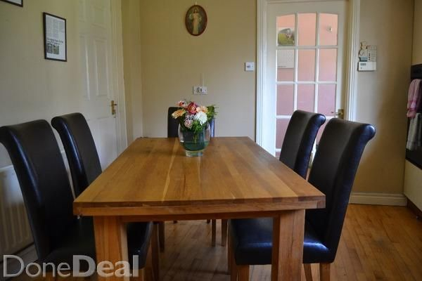 Solid Oak Table And 8 Chairs Solid Oak Table Kitchen Sale Oak