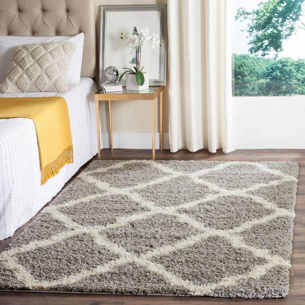 Dallas Gray Ivory 8 Ft X 10 Area Rug