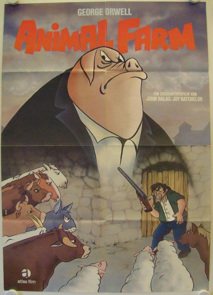 Animal Farm original release german movie poster - Galerie