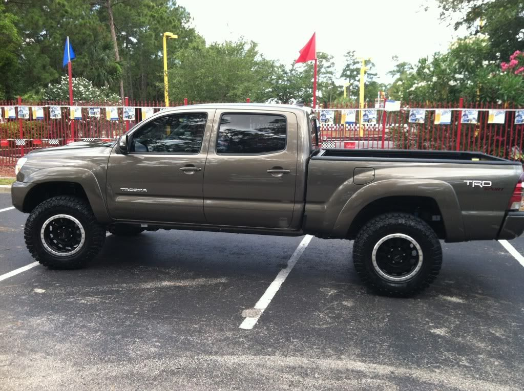 Toyota Tacoma 4x4 Double Cab Long Bed Pyrite Mica