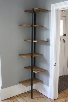 Corner Shelf On Pinterest Corner Shelves Corner Wall Shelves Wall Bookshelves Corner Wall Shelves Corner Shelving Unit