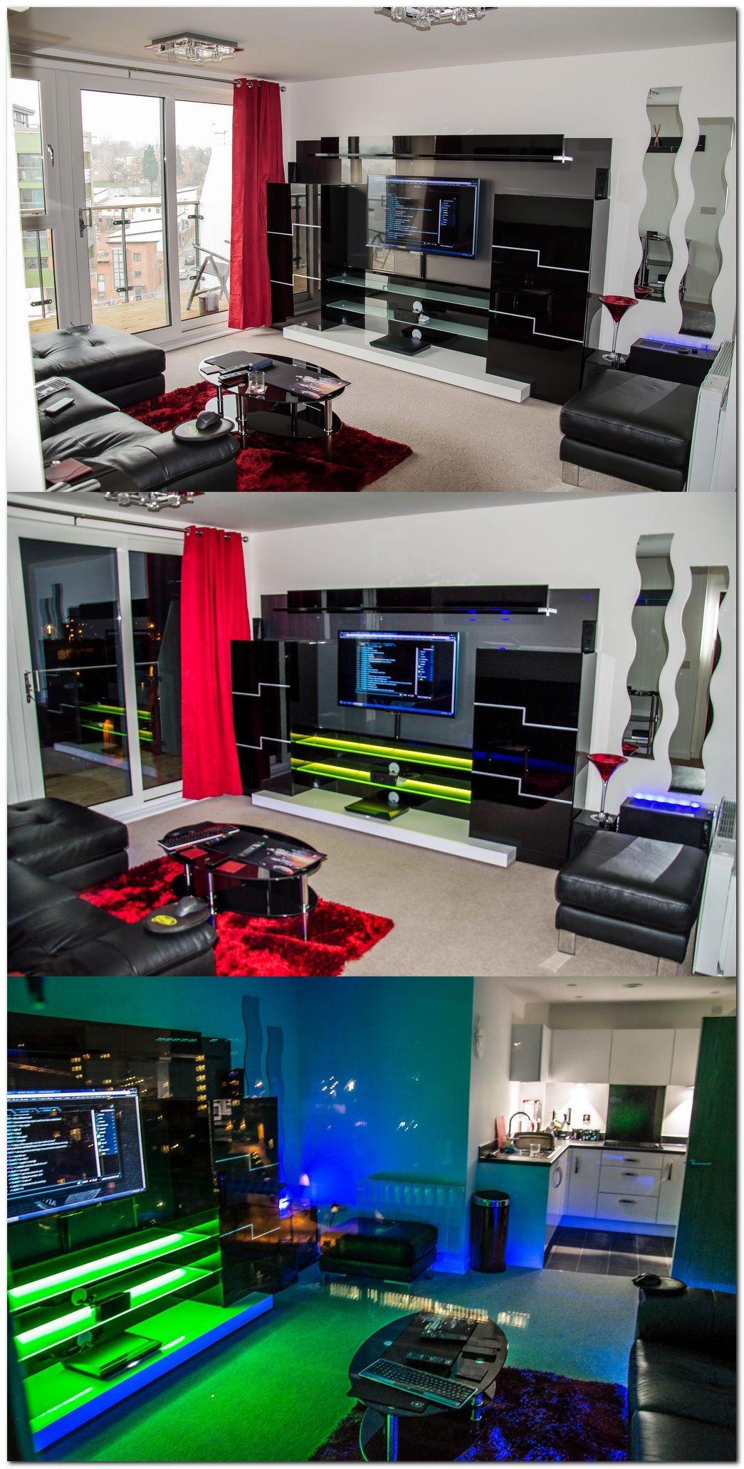 100+ Cool Interior Design Ideas for Gamers | Pinterest