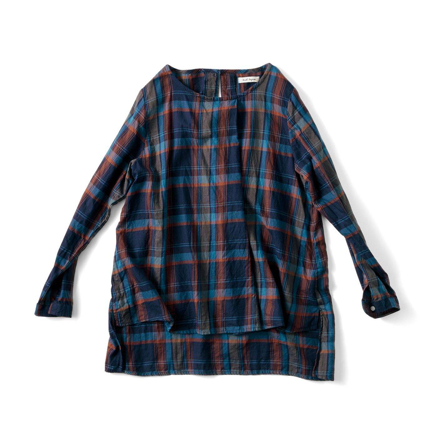 |【and myera Buy 2 get 10% OFF discount product】and myera チェックなチュニック