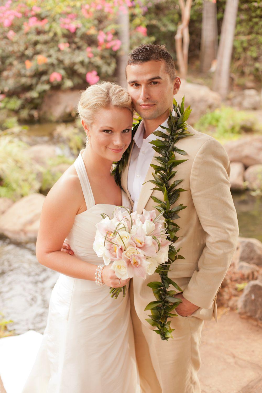 Classic hawaiian grooms attire groom attire flower