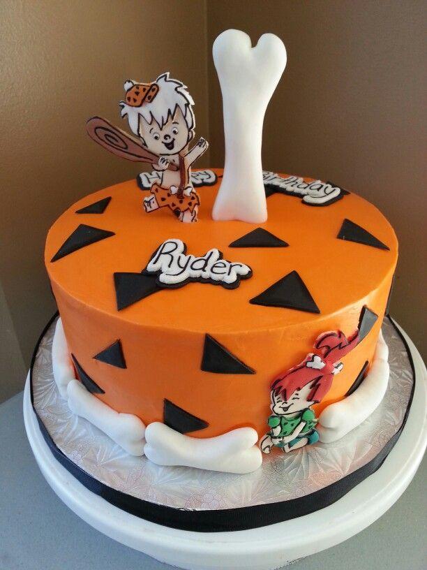 Flinstone Birthday Cake Made By Kakes By Kena 3rd