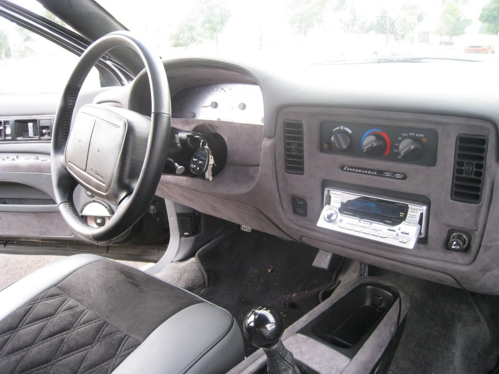 1996 chevy impala ss with 6 speed manual transmission very nice vdr