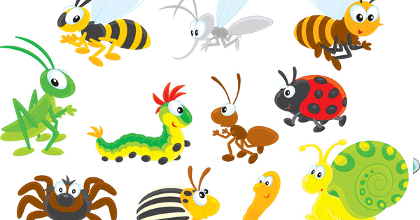 Imprimir insectos , imagenes con dibujos de insectos; arañas ...