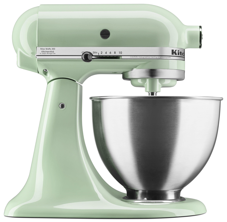 Kitchenaid Deluxe 4 5 Quart Tilt Head Pistachio Stand Mixer Ksm88pt Walmart Com Kitchen Aid Mixer Kitchen Aid Kitchenaid Stand Mixer