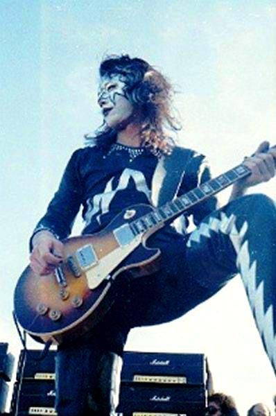 Ace Frehley 1973 Ace Frehley Les Paul Hot Band