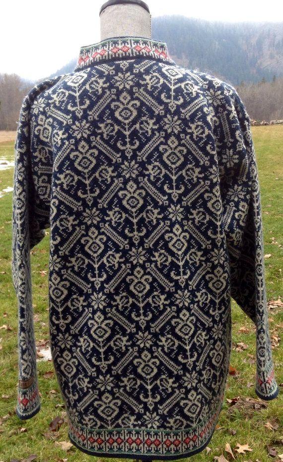 Dale of Norway Norwegian wool sweater | Tricot (jacquard) | Pinterest