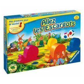 Jeu de société Allez les escargots - Ravensburger - Enfant - De 3 ans à 7 ans à 24,00 € chez ...