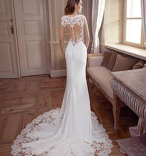 Tres Chic 9378EG b | Kleid hochzeit, Atemberaubende ...