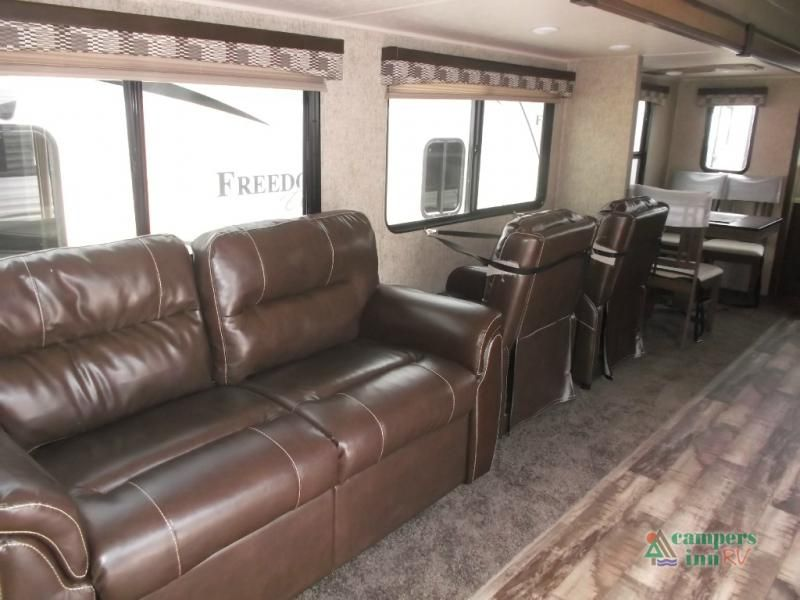 New 2017 Palomino Puma Destination 39 Pfk Destination Trailer At