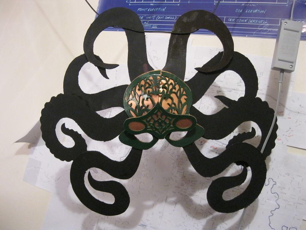 DIY Octopus Masquerade Mask DIY Cardboard DIY Crafts | DIY ...