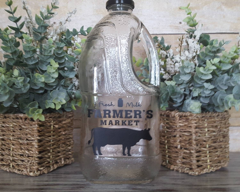 Farmhouse milk jug cottage kitchen dinning decor