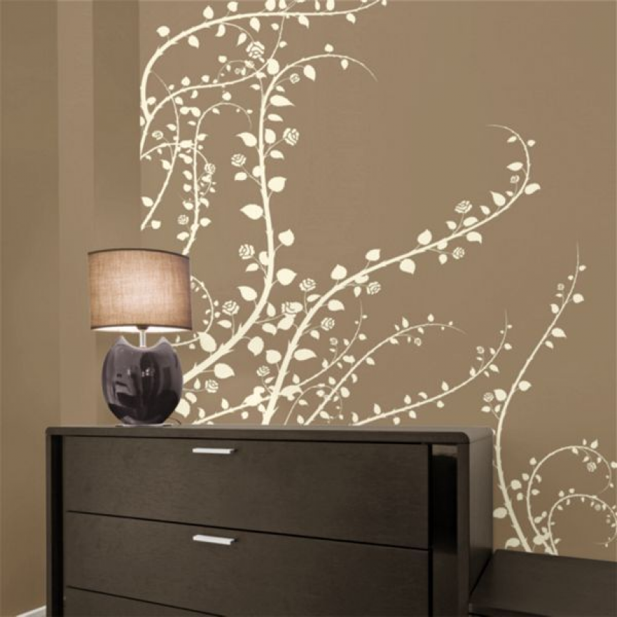 awesome wall decals- they really do peel off easily with no damage