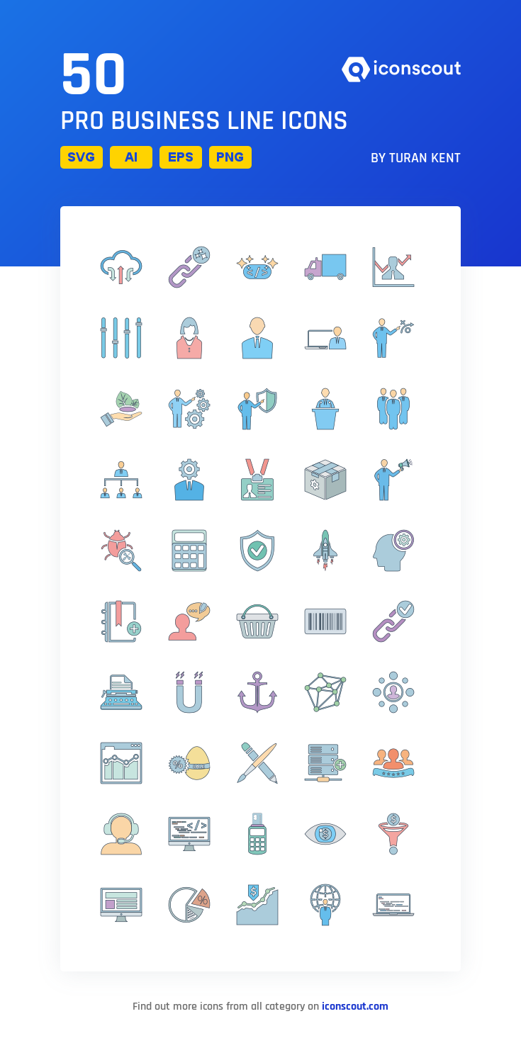 Download Pro Business Line Icon Pack Available In Svg Png Eps Ai Icon Fonts Business Card Icons Marketing Icon Network Icon