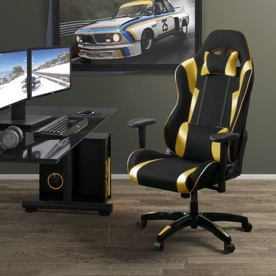 Latitude Run High Back Ergonomic Gaming Chair | Wayfair #gamingdesk