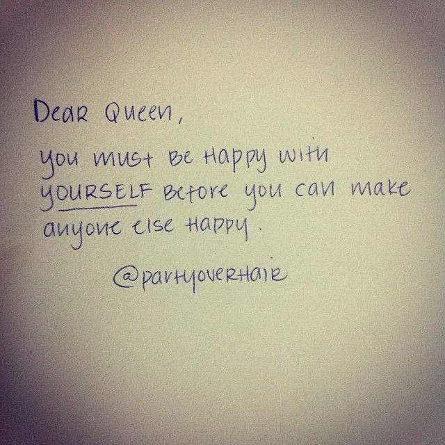 .@Party Over Hair | Morning Motivation. Happy Friday! #DearQueen #quotes #wisdom | Webstagram