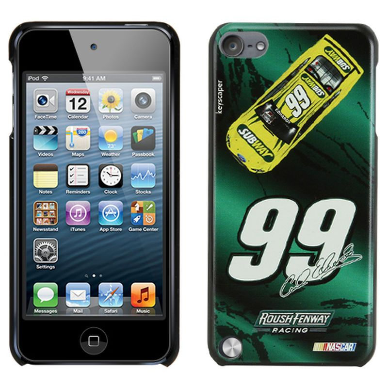 Carl Edwards 5th Generation iPod Touch Hard Case - Green