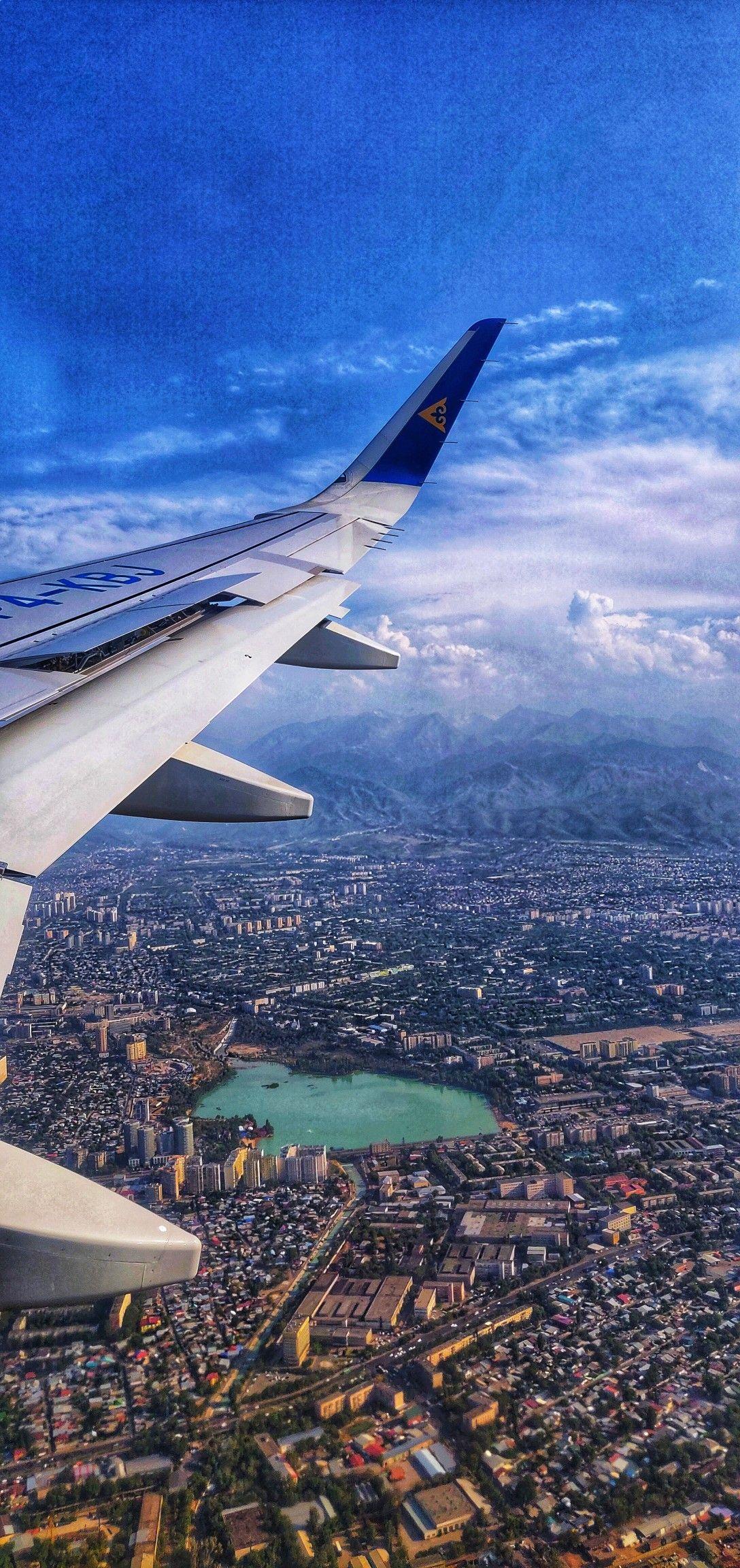 Обои Самолёт. Города foto 12