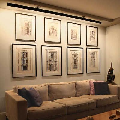 How To Arrange Perfect Lighting For Your Artwork Widewalls Wall Art Lighting Gallery Wall Lighting Light Wall Art