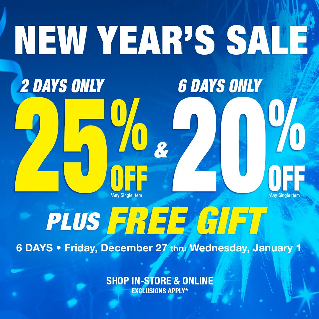 New Year's Sale! New years sales, Harbor freight tools