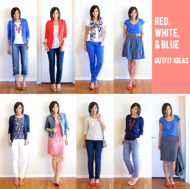 Putting Me Together | Red white blue Wardrobes and Clothes