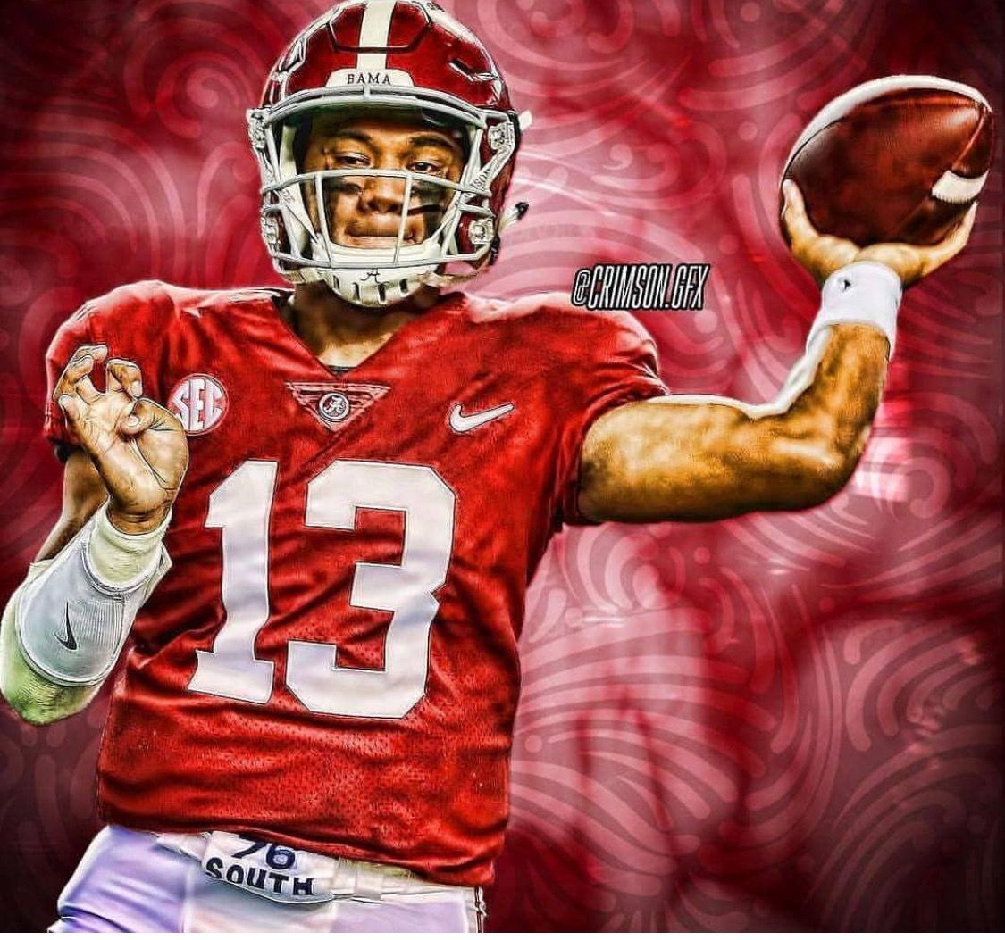 Tua Tagovailoa The Alabama Crimson Tide Collected Their Fifth National Title In Nine Alabama Crimson Tide Football Alabama Crimson Tide Crimson Tide Football