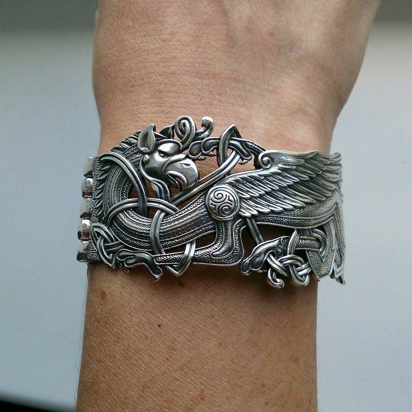 Bracelet Griffin Cuff Bracelet Griffon Bronze Bracelet Etsy Mens Jewelry Mens Jewelry Bracelet Bronze Bracelets