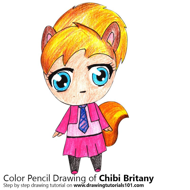 Chibi Brittany from Alvin and the Chipmunks