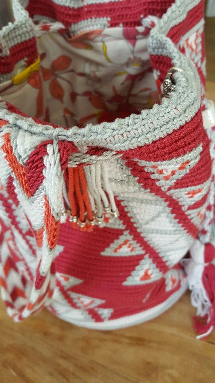 Pin de Yasemin Genc en wayuu çalışmaları | Pinterest | Mochilas ...